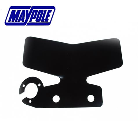 Maypole Bumper Protector with Single Side Mounting in Black