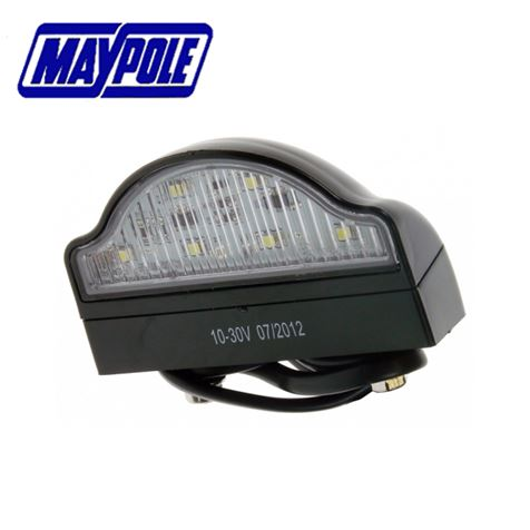 Maypole 12/24V LED Number Plate Lamp