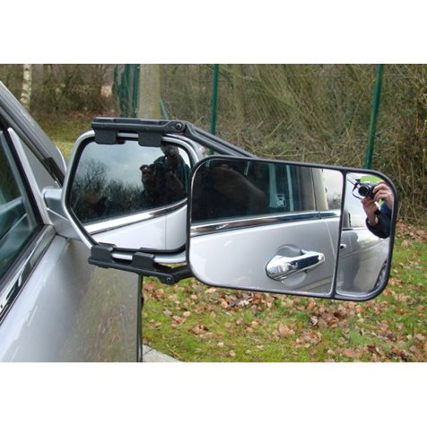 additional image for Maypole Universal Large Dual Towing Mirror