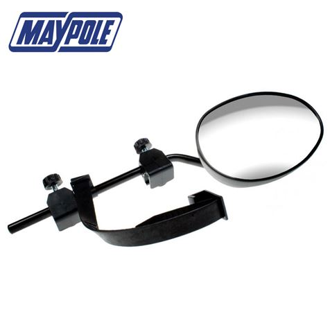 Maypole Universal Convex Glass Towing Mirror