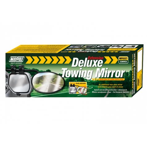 additional image for Maypole Universal Convex Glass Towing Mirror