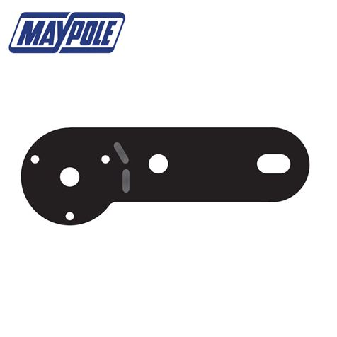Maypole Single Socket Mounting Plate for Towing Electrics