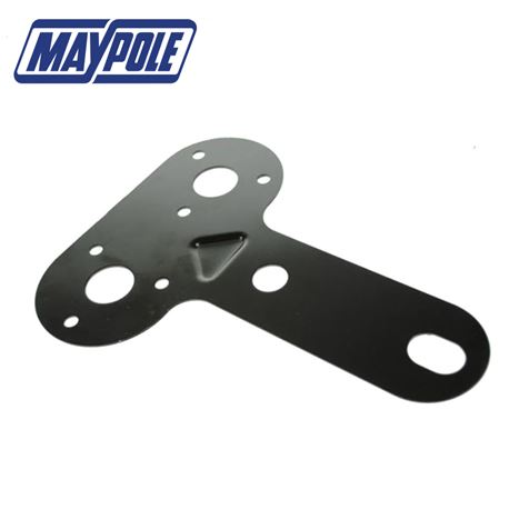 Double Socket Mounting Plate for Towing Electrics