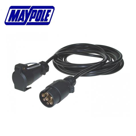 Maypole 12N 7 Pin 6m Extension Cable