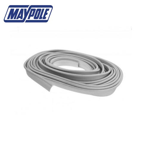 Maypole Awning Rail Protector Strip 12m - White
