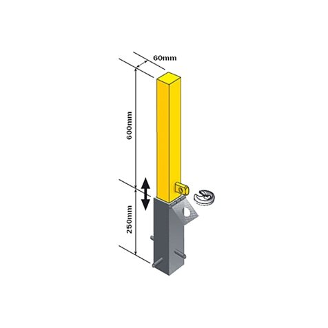 additional image for Maypole Removable Security Post