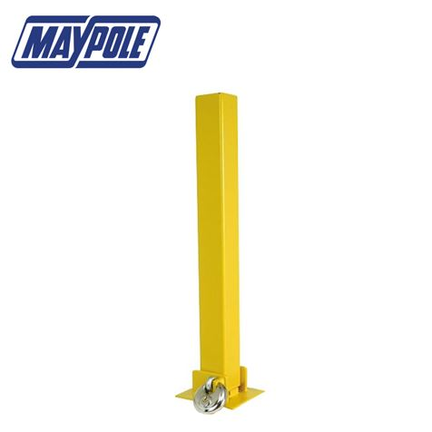 Maypole Fold Down Security Post With Bolts