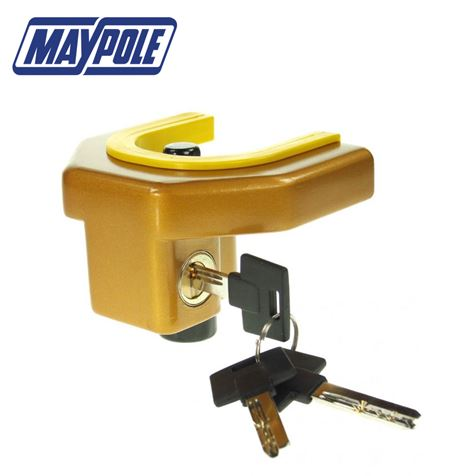 Maypole Deluxe Trailer and Caravan Coupling Lock