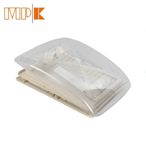 MPK Clear Dome Rooflight With Flynet 280 x 280