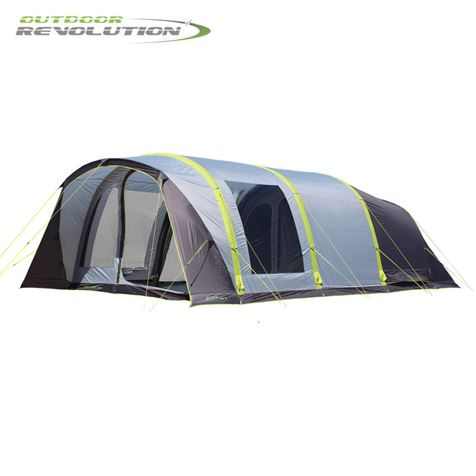 Outdoor Revolution Cruiz 6.0 TXL Air Tent With Free Snugrug - 2019 Model