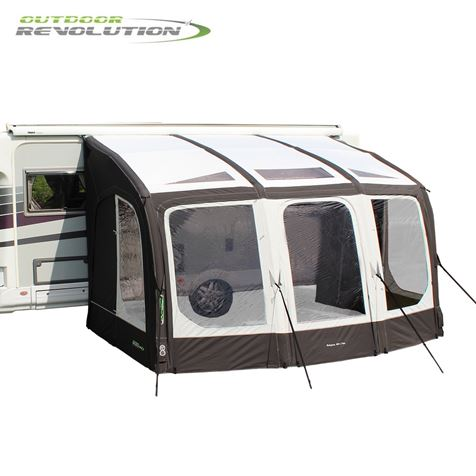 Outdoor Revolution Eclipse Pro 380 Caravan Awning With FREE Carpet - 2020 Model