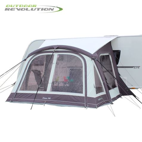 Outdoor Revolution Elan 340 Air Awning With FREE Carpet - 2019 Model