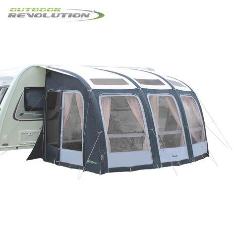 Outdoor Revolution Esprit 360 Pro S Caravan Awning With FREE Carpet - 2020 Model