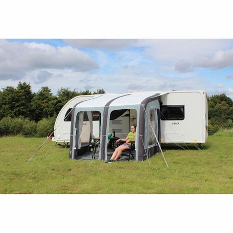 additional image for Outdoor Revolution Evora 260 Pro Climate Air Caravan Awning With FREE Carpet - 2019 Model