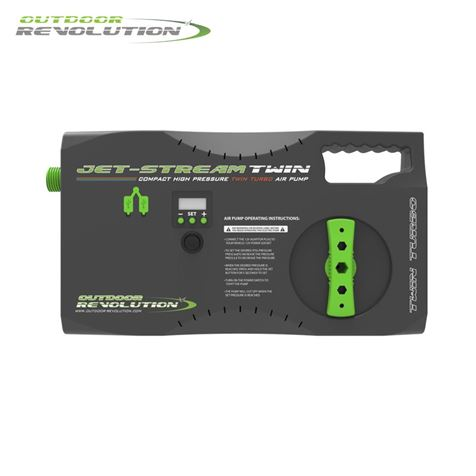 Outdoor Revolution Twin Jet Stream Electric Pump