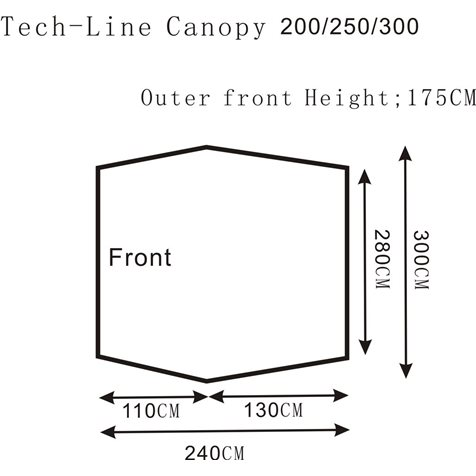 additional image for Outdoor Revolution Tech-Line Canopi