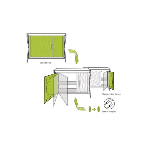 additional image for Outwell Camrose Kitchen Unit - 2019 Model