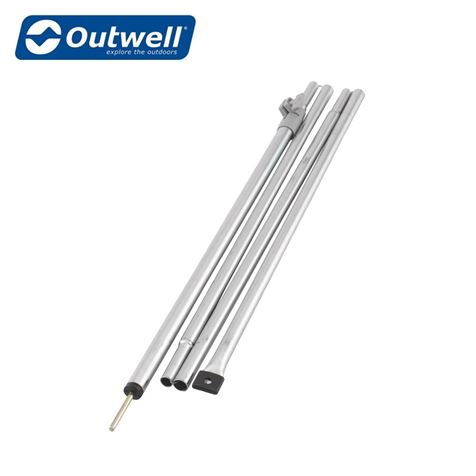 Outwell Upright Rear Pole Set For Caravan Awnings