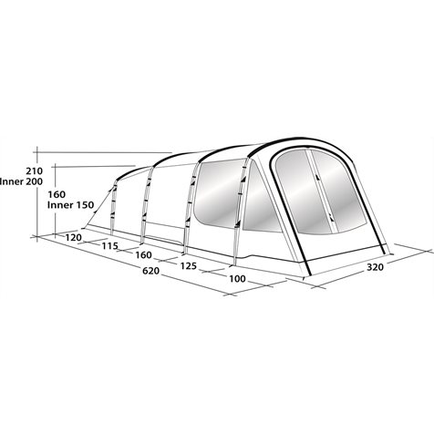 additional image for Outwell Collingwood 5 Tent - 2019 Model