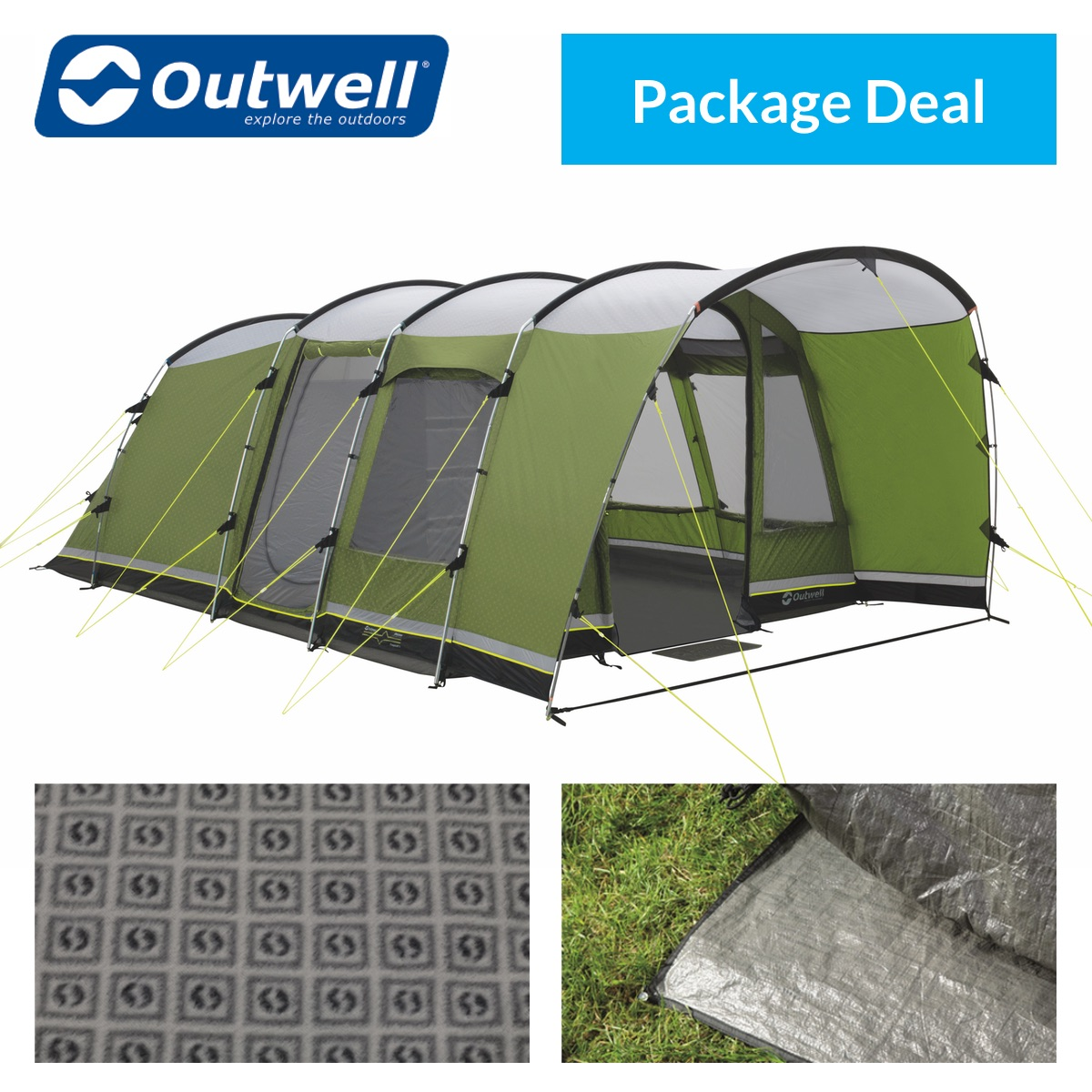 Outwell Flagstaff 5 Tent Package Deal  sc 1 st  Purely Outdoors & Outwell Flagstaff 5 Tent | Purely Outdoors