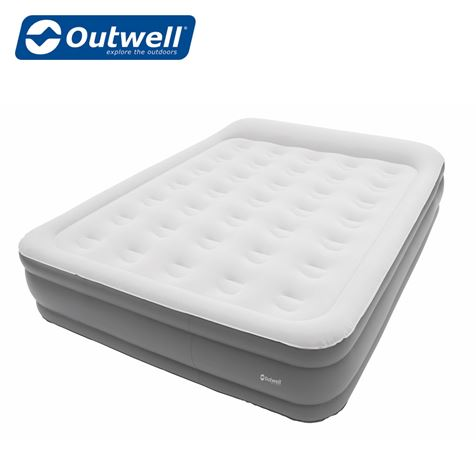 Outwell Flock Superior Double Airbed - With Built In Pump