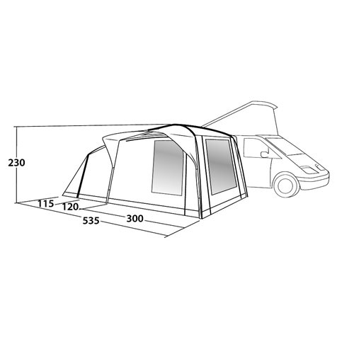 additional image for Outwell Milestone Nap Driveaway Awning - New For 2019
