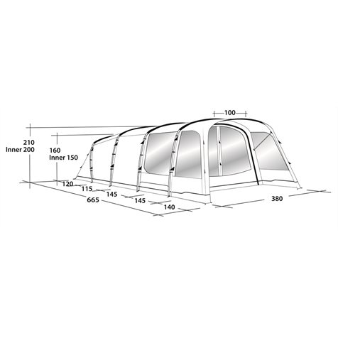 additional image for Outwell Willwood 6 Tent - 2019 Model