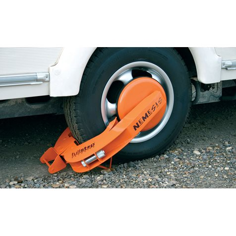 additional image for Purple Line Full Stop Nemesis Wheel Clamp