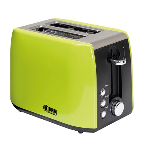 additional image for Quest 2 Slice Stainless Steel Toaster