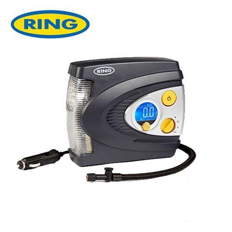 Ring Preset Digital Air Compressor with LED light