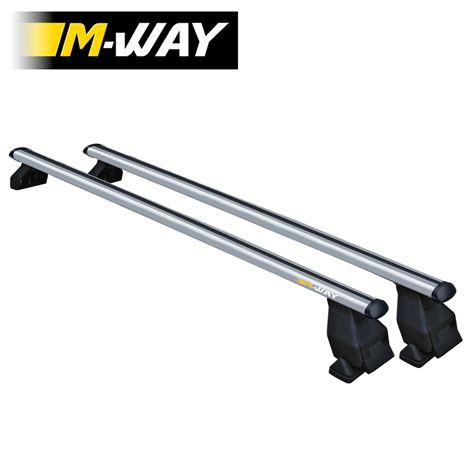 M-Way Space Bar A - Aluminium Roof Bars & Foot Kit