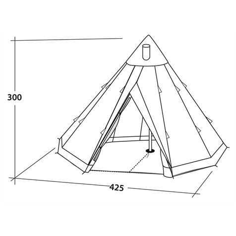 additional image for Robens Chinook Polycotton Tent - 2020 Model