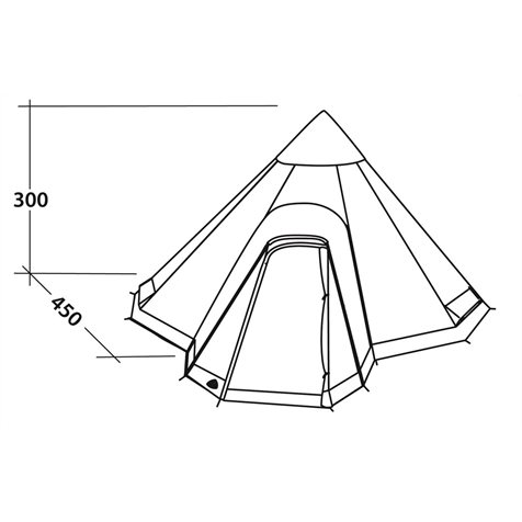 additional image for Robens Field Tower Tipi Tent