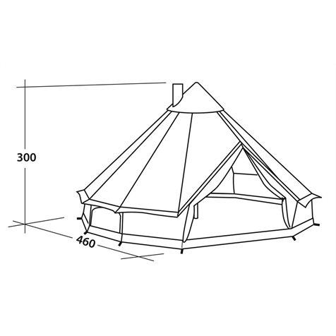 additional image for Robens Klondike Grande Polycotton Tent - 2019 Model