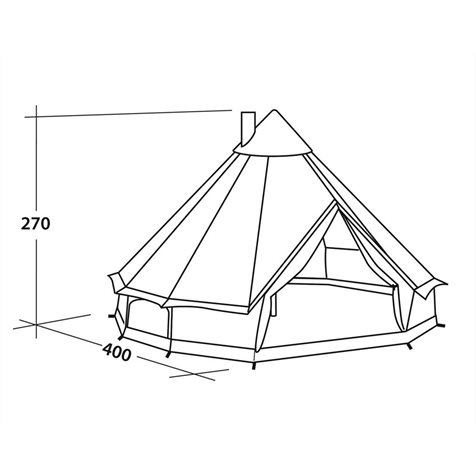 additional image for Robens Klondike Polycotton Tent - 2019 Model