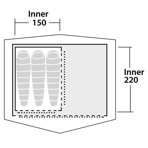 additional image for Robens Prospector S Inner Tent
