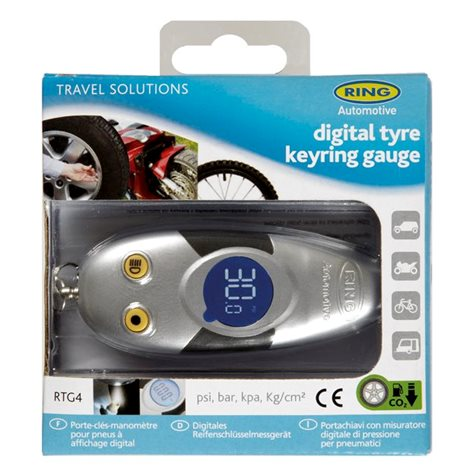 additional image for Ring Digital Tyre Keyring Gauge