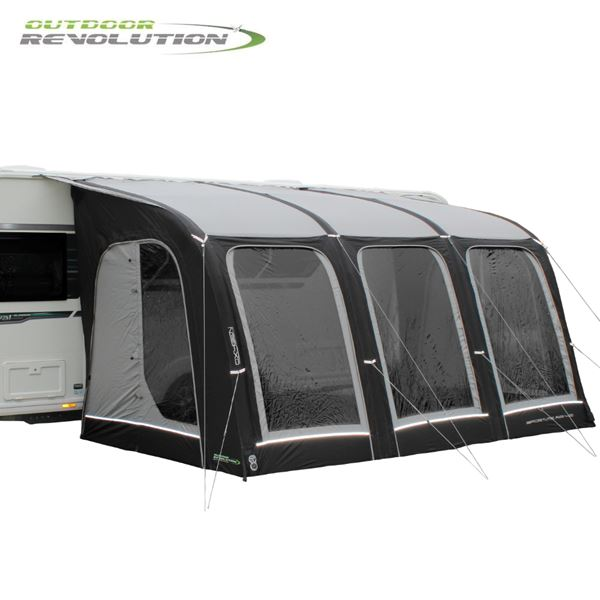 Outdoor Revolution Sportlite Air 400 Caravan Awning With FREE Carpet - New For 2021