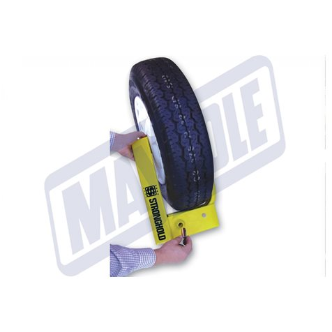 additional image for Stronghold Insurance Approved StrongArm Wheel Clamp