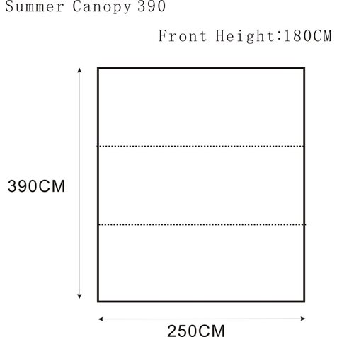 additional image for Outdoor Revolution Summer Canopy