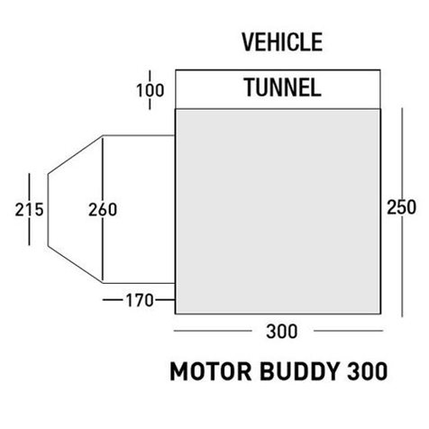 additional image for SunnCamp Motor Buddy 300 XL