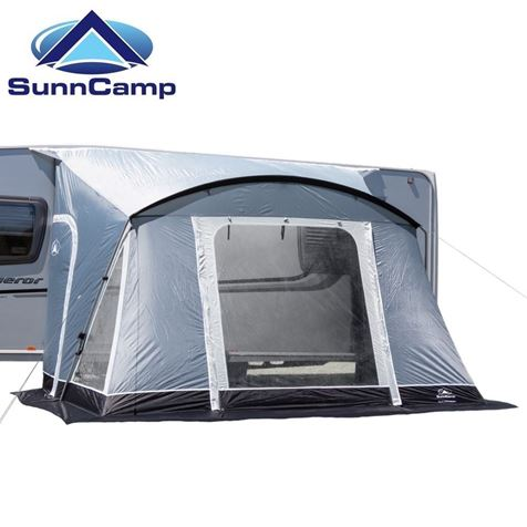 SunnCamp Swift 325 Deluxe Caravan Awning With FREE Carpet - 2019 Model