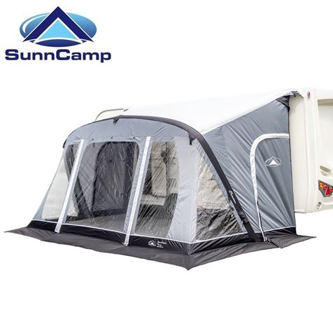 SunnCamp Swift Air SC 390 Caravan Awning with FREE Carpet - 2020 Model