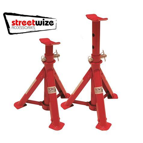 Streetwize 2 Tonne Folding Axle Stands