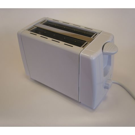 additional image for Swiss Luxx Low Wattage White Toaster