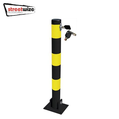 Heavy Duty Folding Round Parking Post