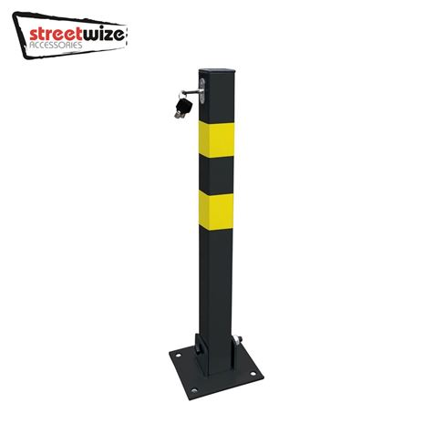 Heavy Duty Folding Square Parking Post