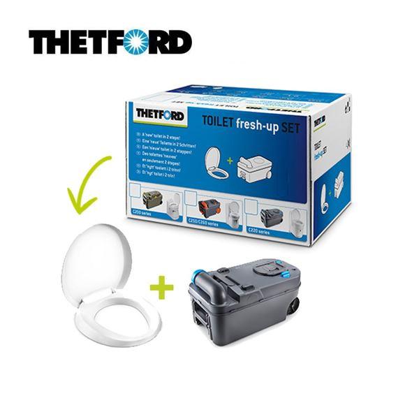 Thetford Toilet C220 Toilet Fresh Up Set