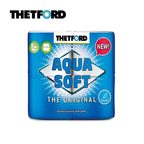 Thetford Aqua Soft Toilet Paper - 4 Pack