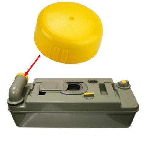 additional image for Thetford Yellow Dump Cap For Waste Spout